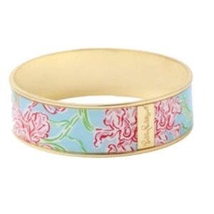 Lilly Pulitzer Lilly Loves Hope Bangle Blue Pink